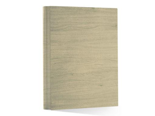 album per foto effetto legno