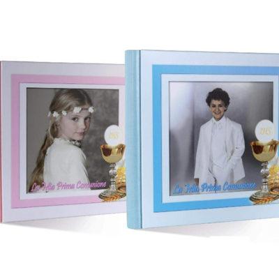 album comunione con foto copertina