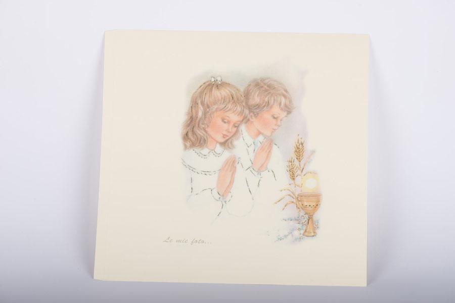pagina decorata per album comunione