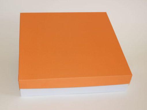scatola arancio giorgia per album