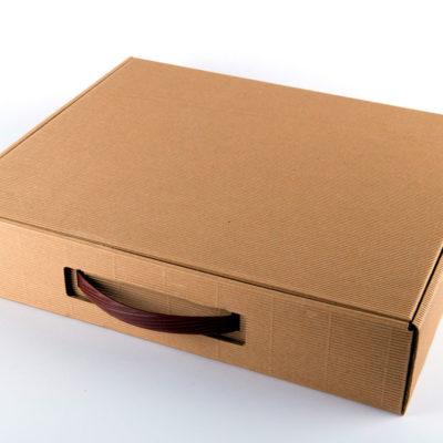 scatola in cartone per album fotografico